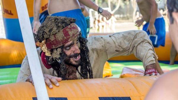 Los Chicos Y Chicas Disfrutaron Del Día Especial Junto Al Capitán Malapipa