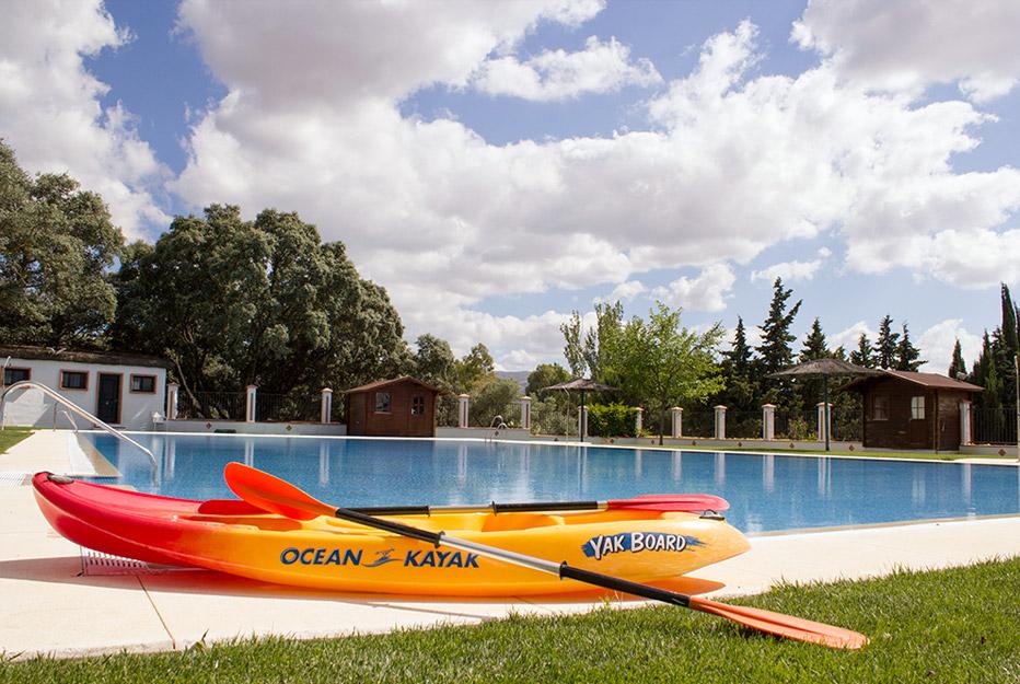 Kayaks - Campus Unicaja Ronda