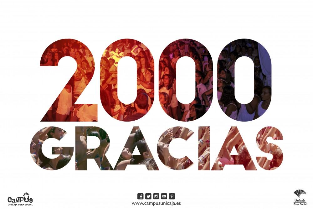 2000 Inscritos