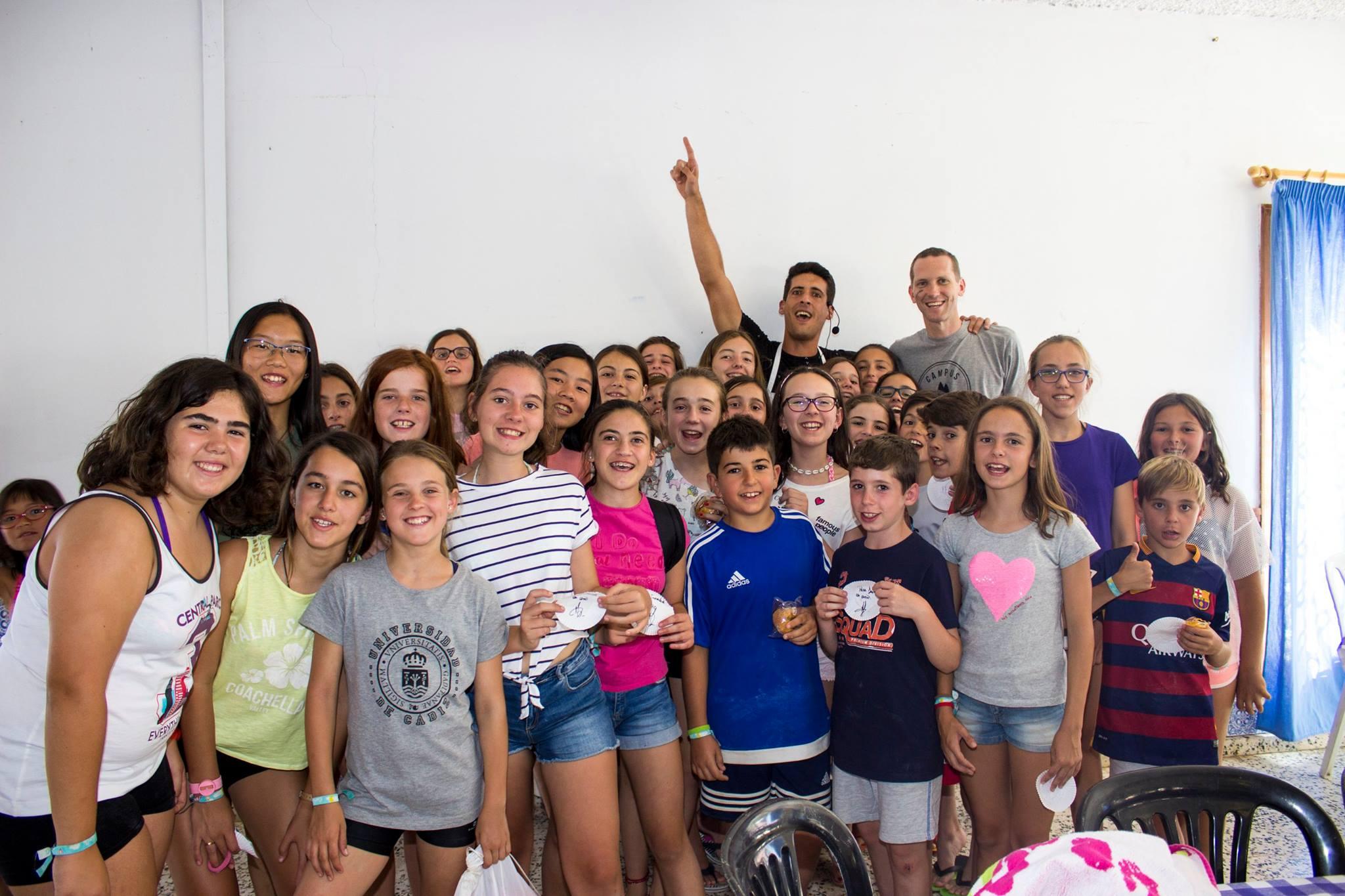 Víctor, Concursante Del Programa MasterChef, Visitó English Camp