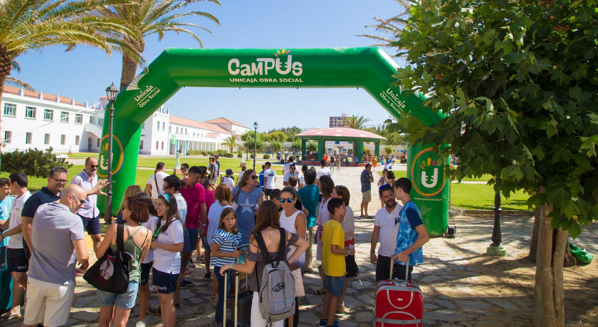 Llegadas Del Segundo Turno De Campus Sabinillas 2017.