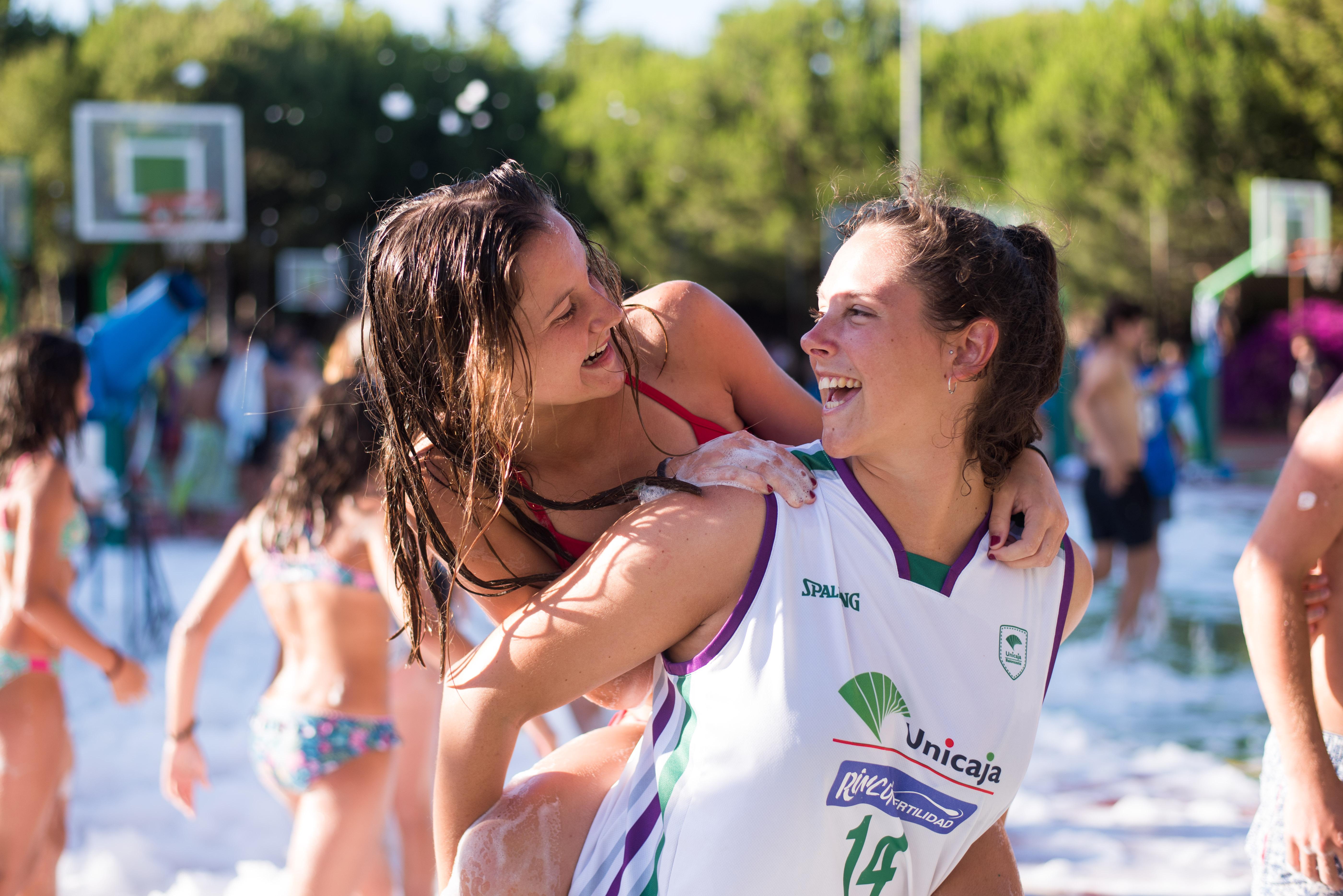 Día Especial En El Primer Turno De Campus Unicaja Baloncesto 2018