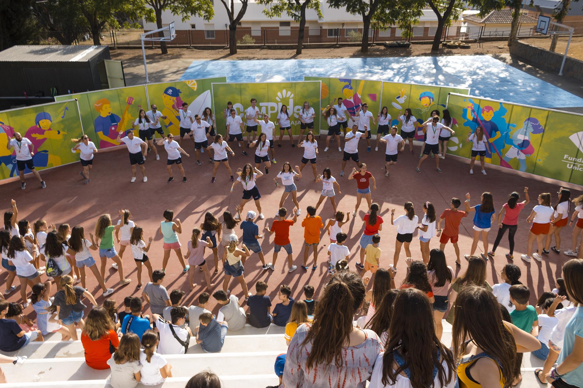 Más De 5.500 Jóvenes Han Disfrutado De Los Campus De La Fundación Unicaja Este Verano