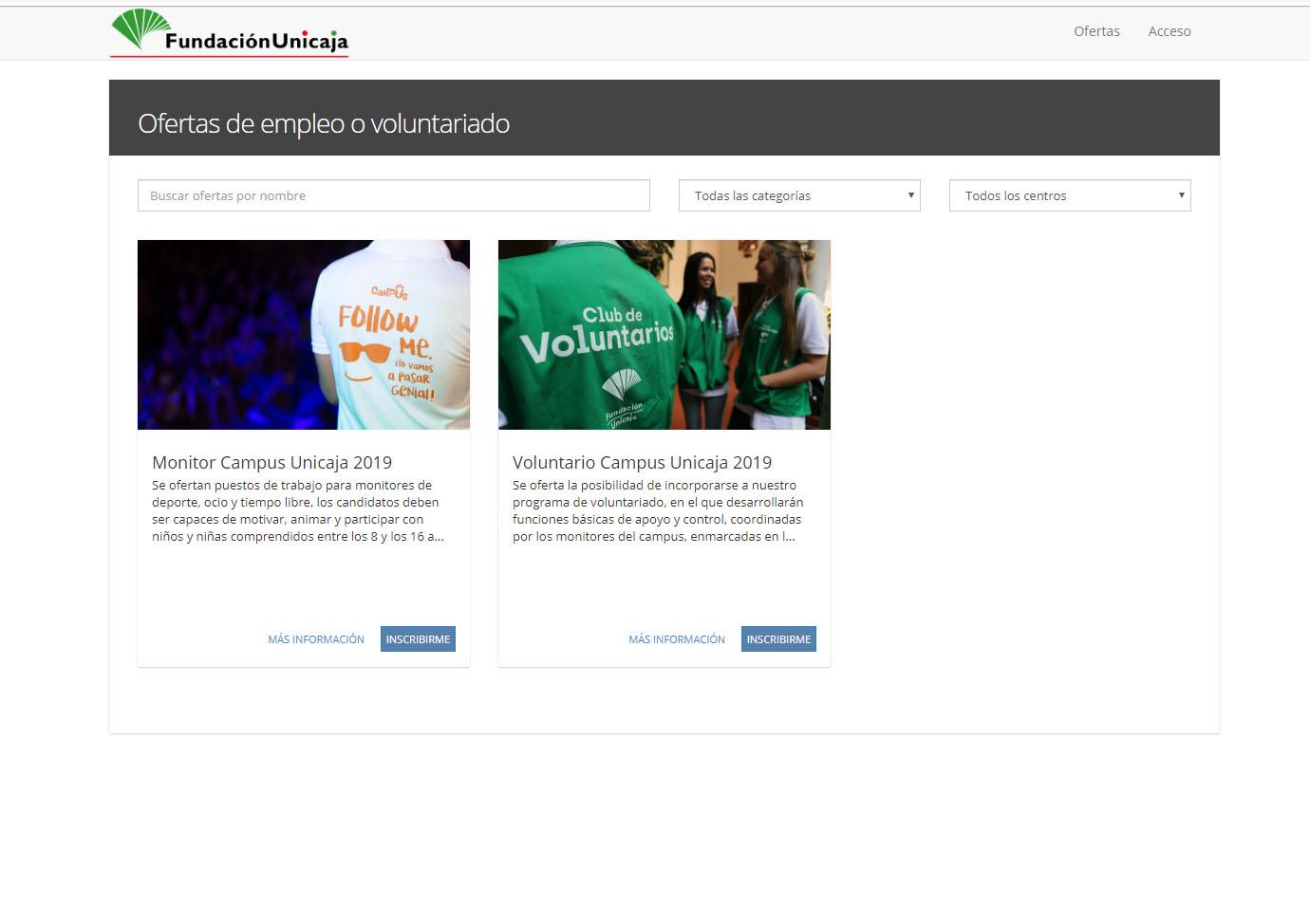 Fundación Unicaja Abre La Bolsa De Empleo Para Participar En Sus Campus De Verano