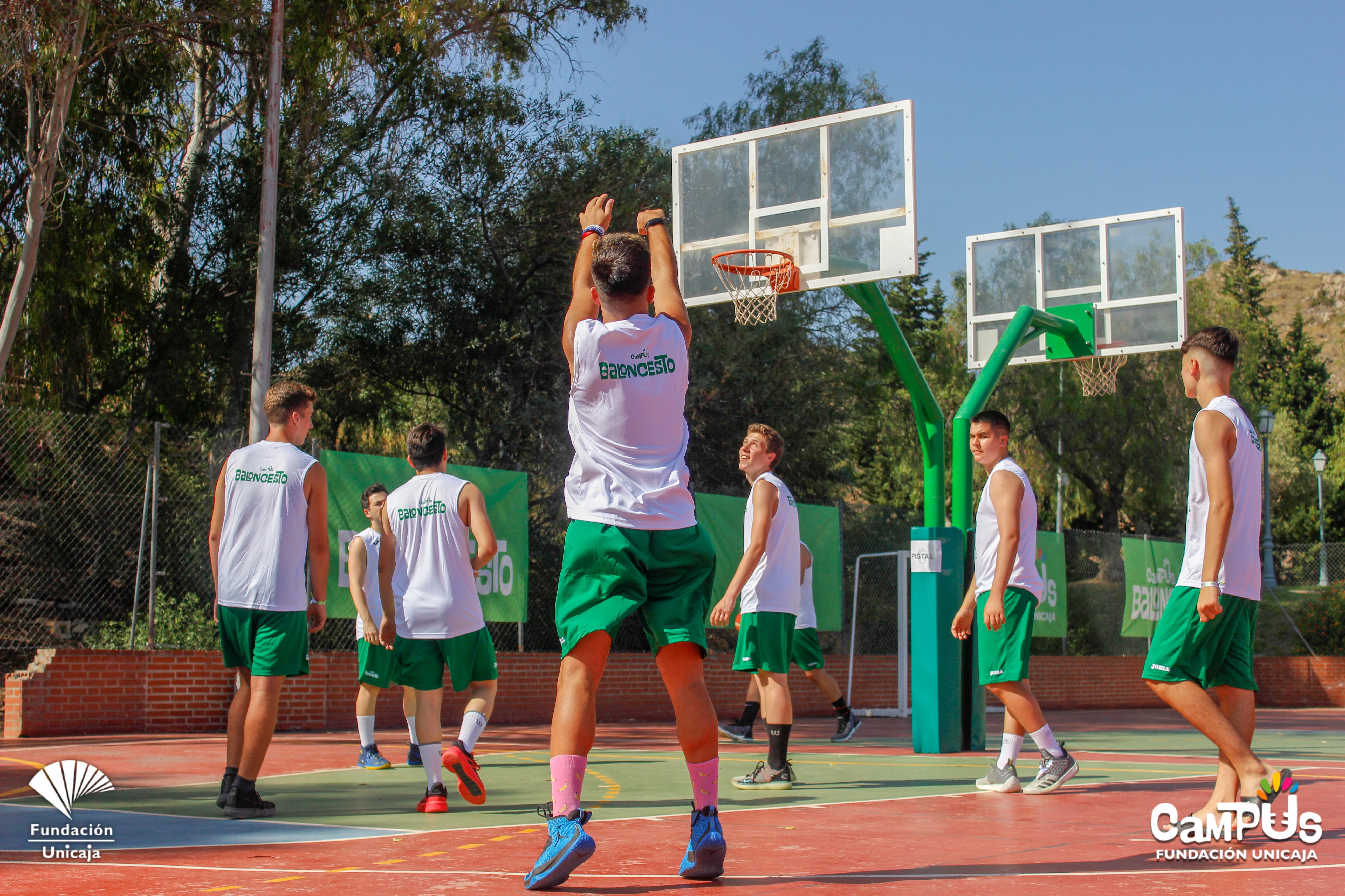 Comienza El Campus Fundación Unicaja Baloncesto