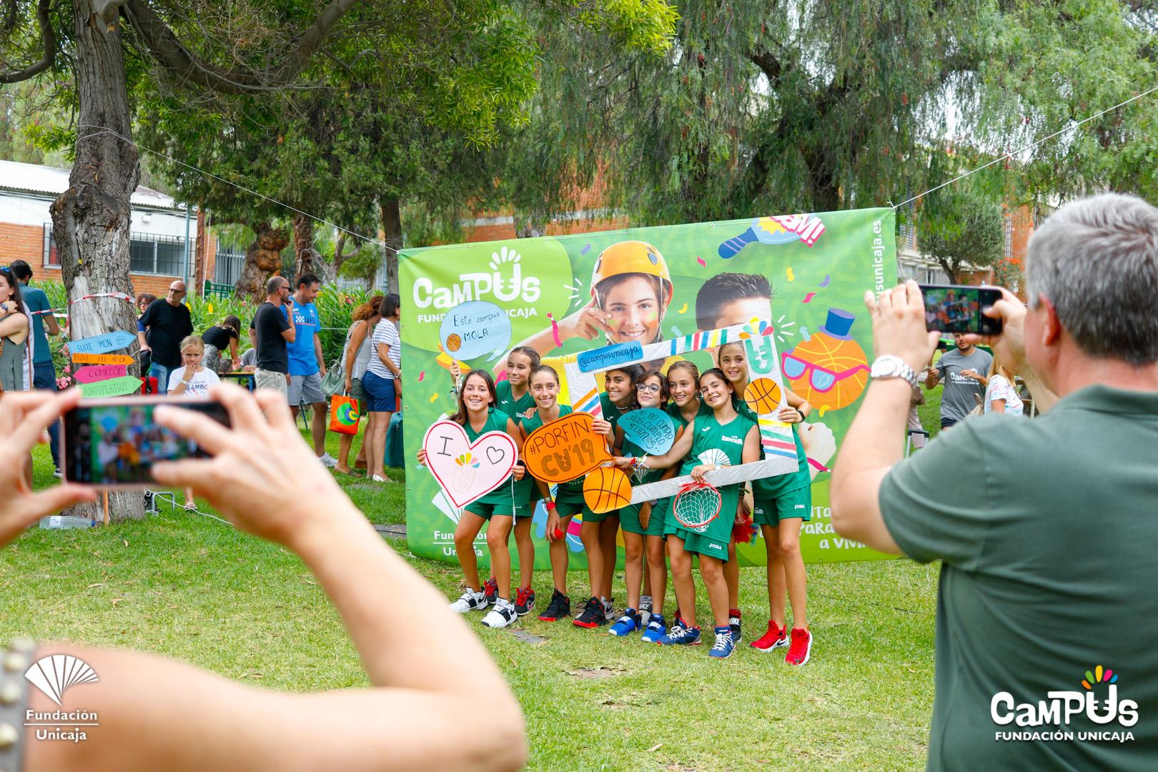 Clausura Turno 1 Y Llegada Turno 2 Del Campus Fundación Unicaja Baloncesto 2019