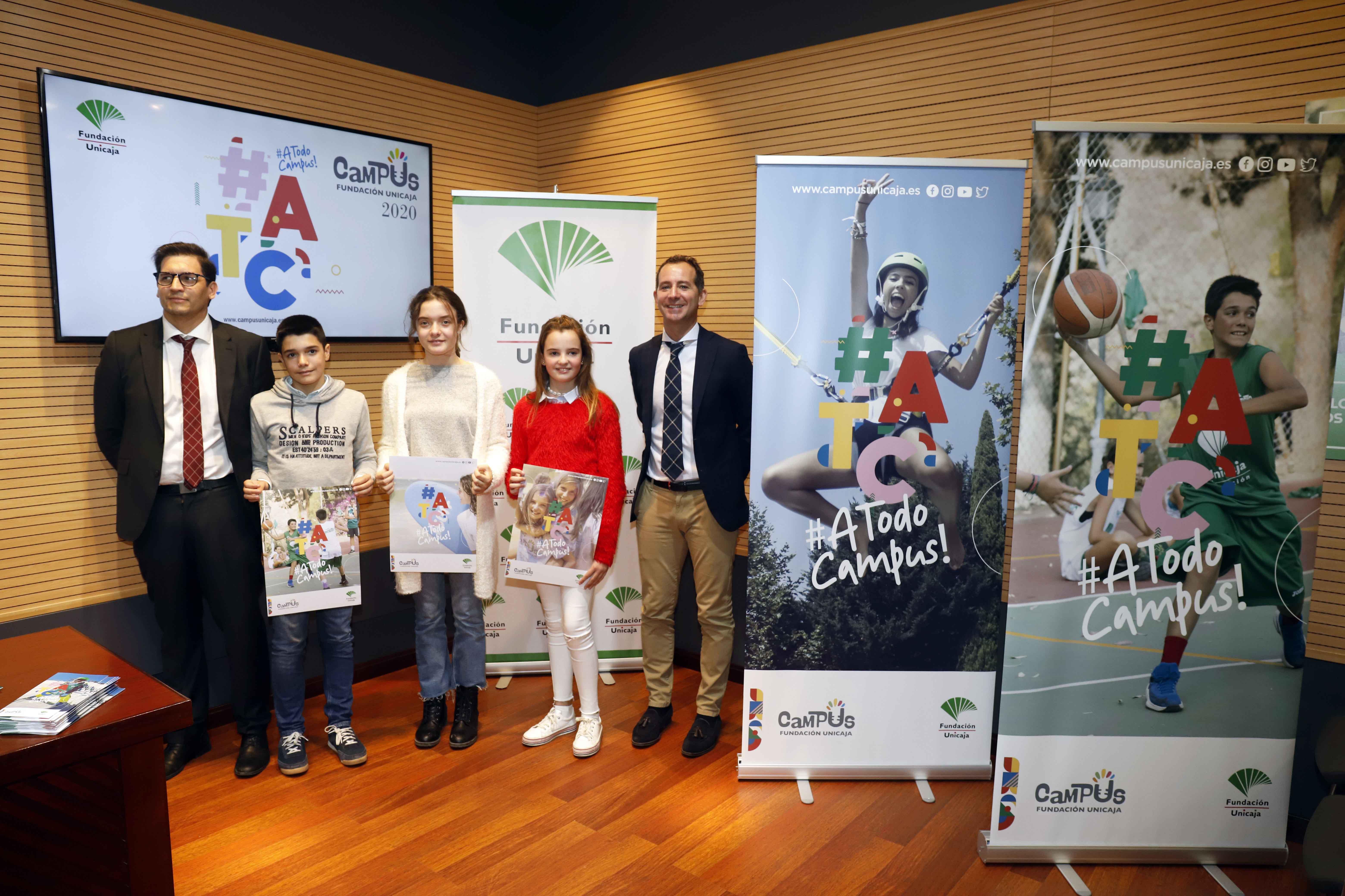 Fundación Unicaja Presenta Sus Campus 2020 Con Casi 6.000 Plazas Disponibles