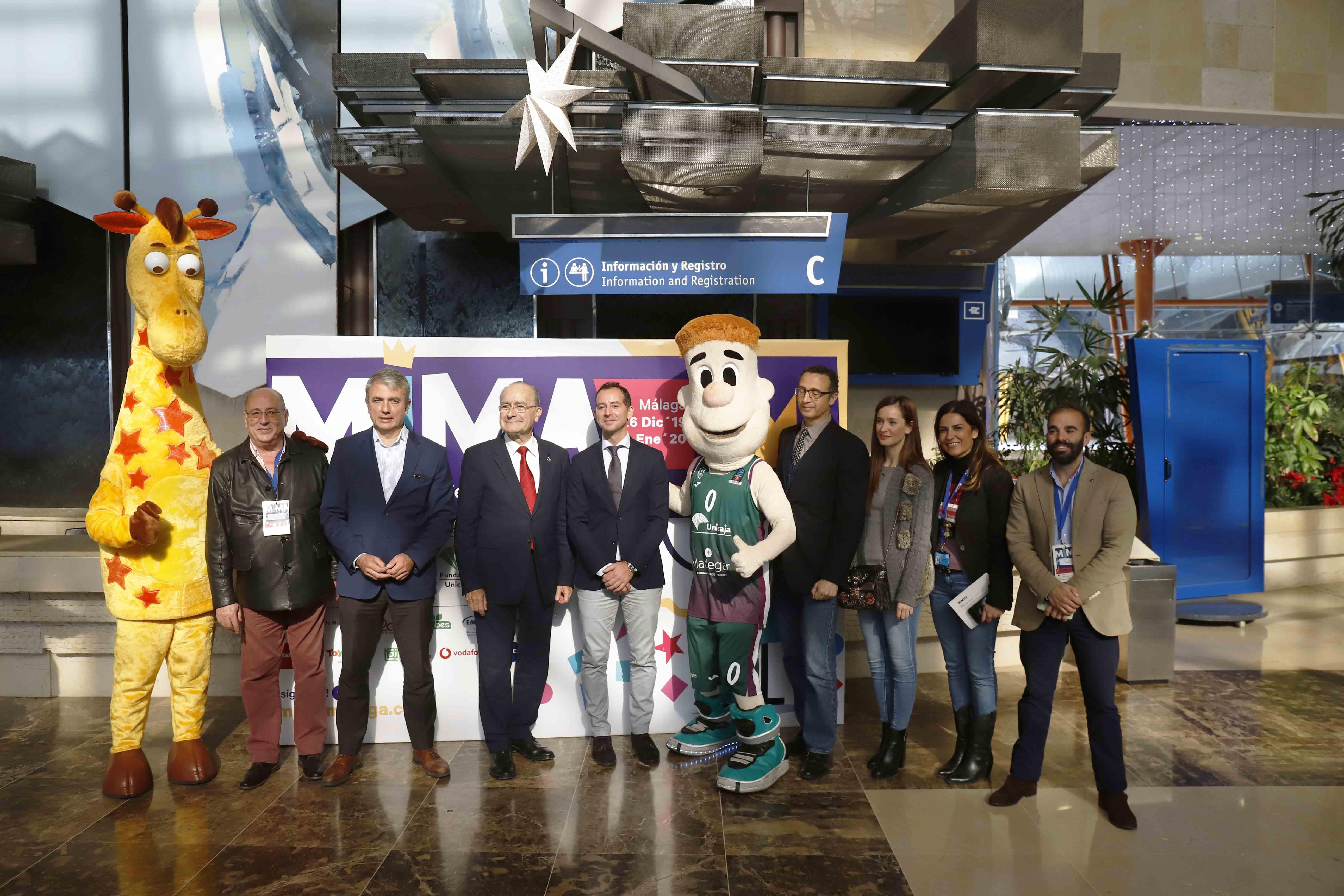 Fundación Unicaja Patrocina Una Nueva Edición De MIMA Con Actividades Lúdicas Para Toda La Familia Durante Esta Navidad